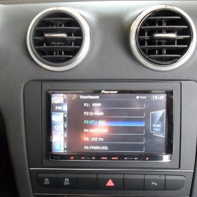 Pioneer 2 din Navigatie Audi A3