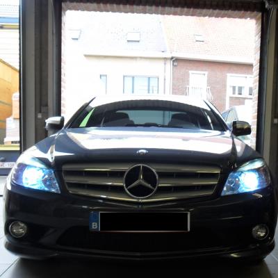 Xenon verlichting in Mercedes