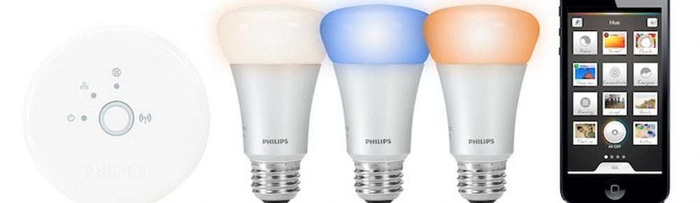 Philips Hue verlicht en bewaakt uw woning