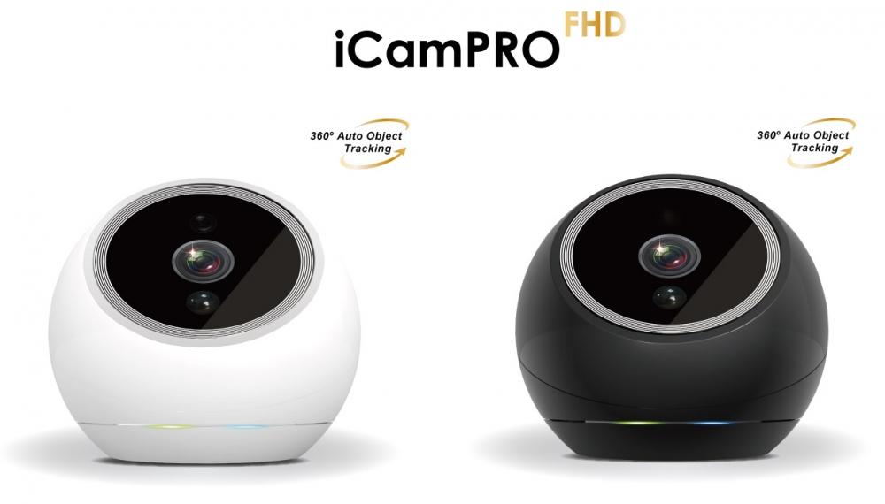 Amaryllo iCamPRO: de eerste camera ter wereld die kan zien, horen & voelen!