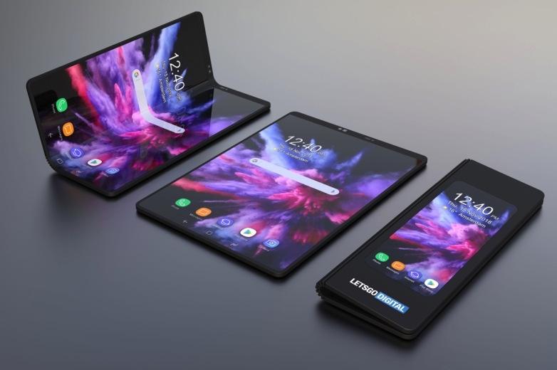 De opvouwbare smartphone